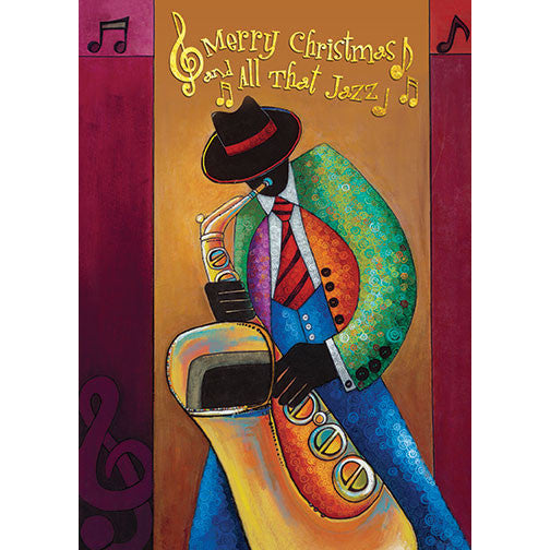 All That Jazz: African American Christmas Card