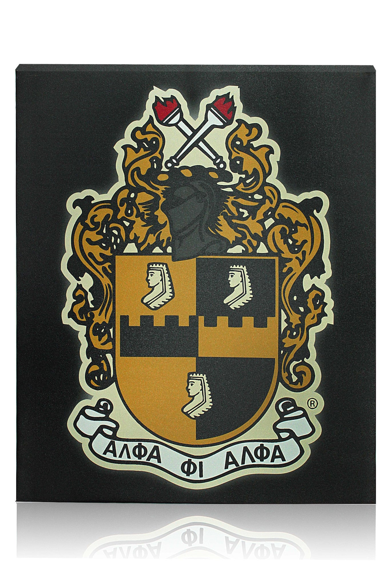 Alpha Phi Alpha Canvas Wall Hanging