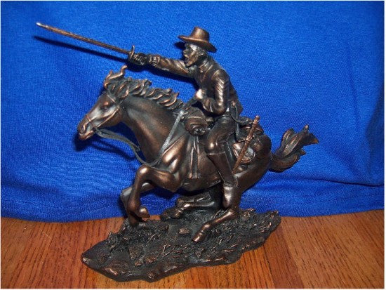 Buffalo Soldier with Sword (Bronzetone) by the American Heritage Collection