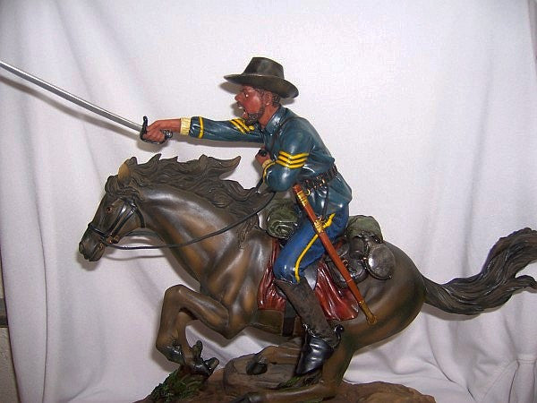 Buffalo Soldier with Sword (Hand Painted) by the American Heritage Collection