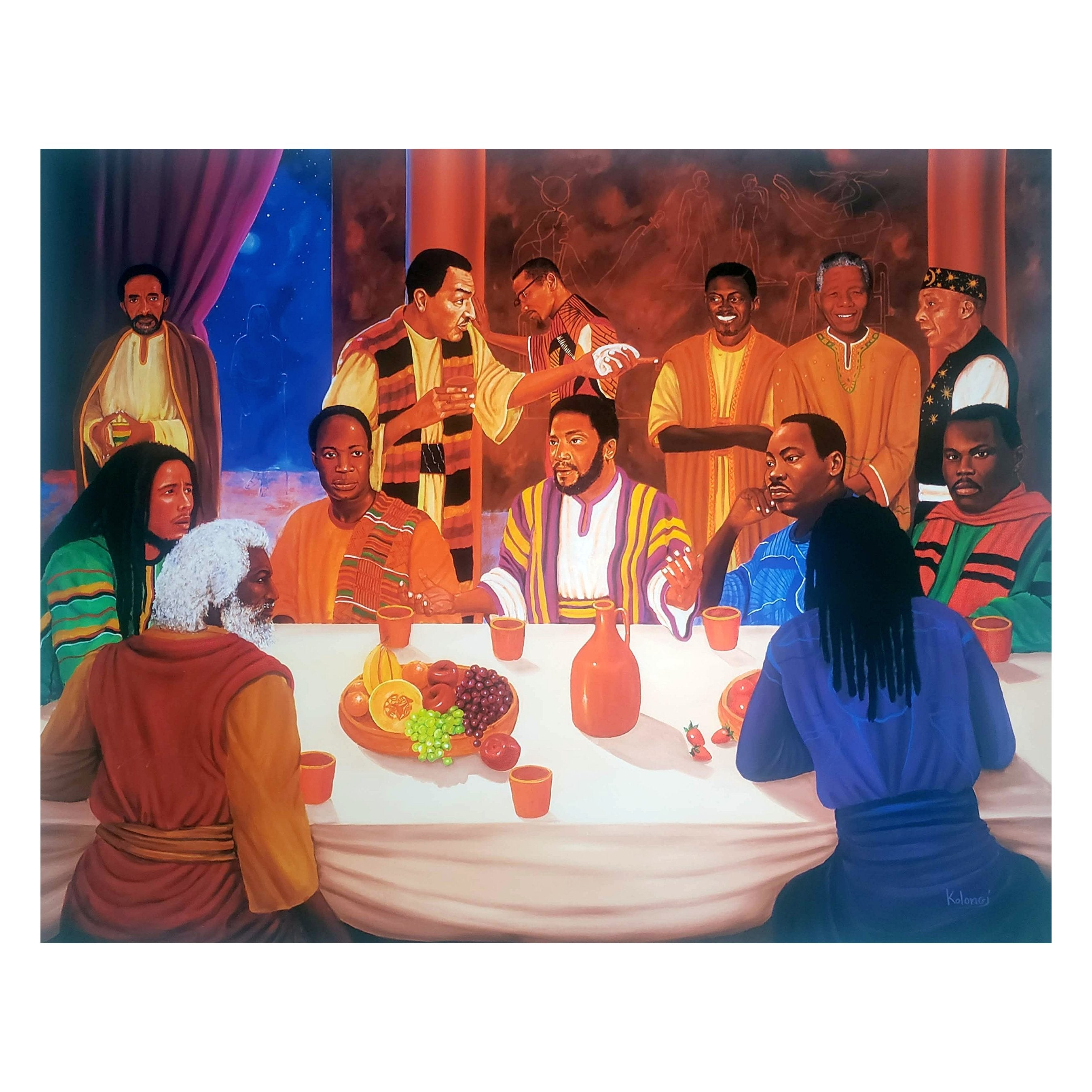 Ancestors in Conference by Kolongi Braithwaite