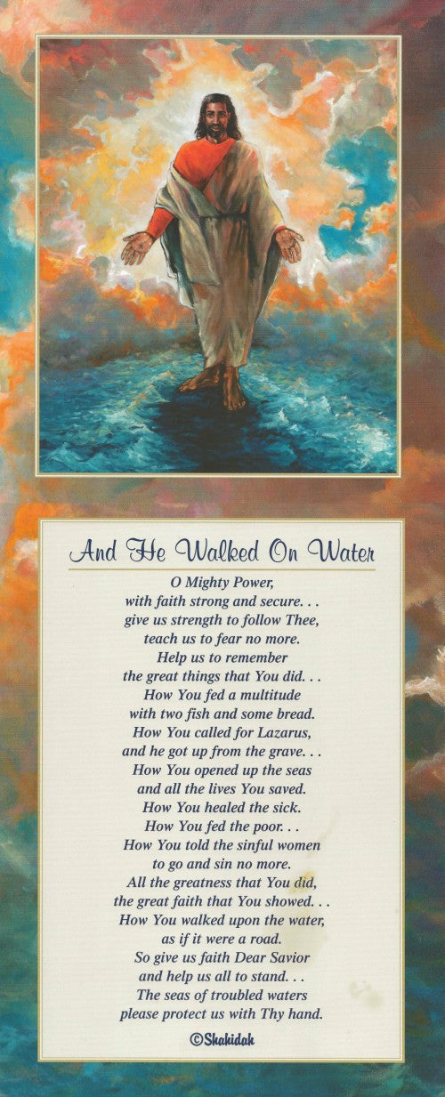 And He Walked on Water by Katherine Roundtree and Shahidah