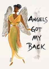 Angels Got My Back Magnet by Cidne Wallace
