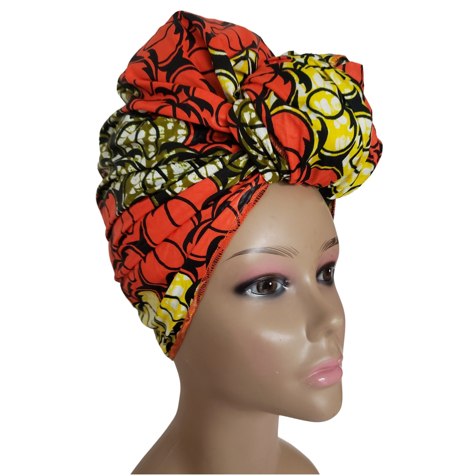 Anisa: Authentic African Fabric Headwrap by Boutique Africa (Kenya)
