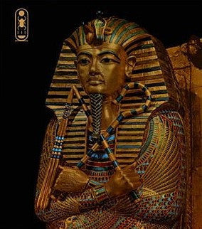 Golden Effigy of King Tutankhamen