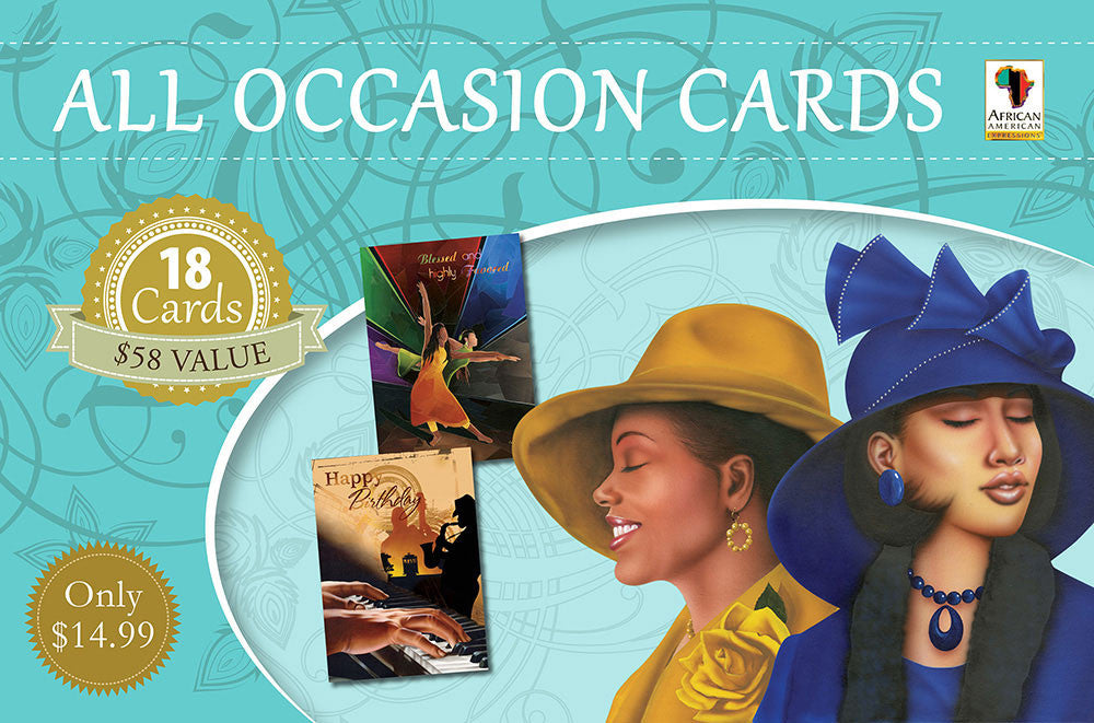 All Occasion African-American Greeting Card Box Set by African American Expressions