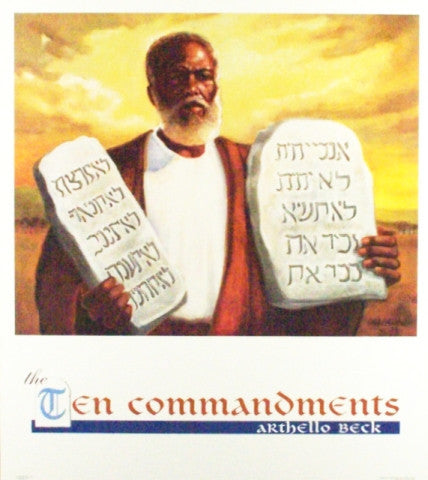 Ten Commandments by Arthello Beck