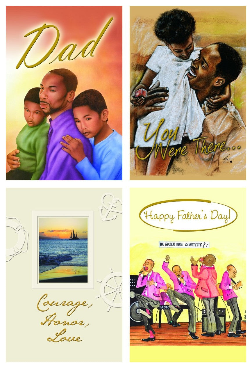 Assorted African American Father's Day Cards