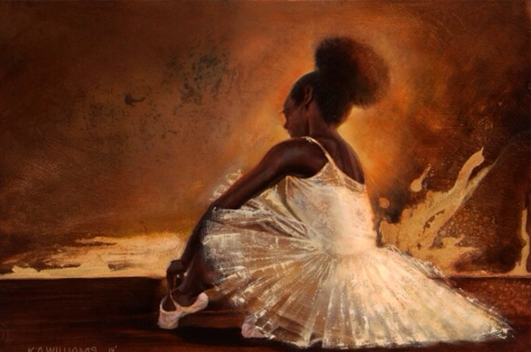 Ballerina Noir by K.A. Williams II