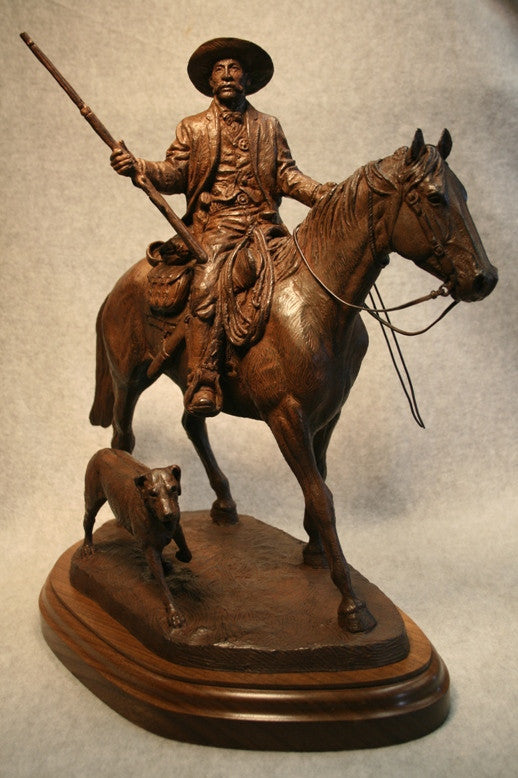 US Marshall Bass Reeves by Harold Holden (Sculpture)