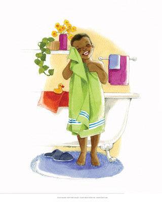 Bath Time Giggles (Boy) by Sylvia Walker