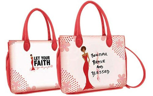 Beautiful, Brave and Blessed Bible Bag by Cidne Wallace