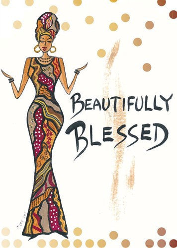 Beautifully Blessed Magnet by Cidne Wallace