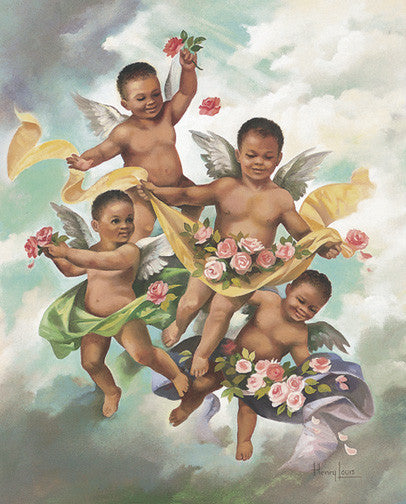 Black Cherubs by Beverly Lopez