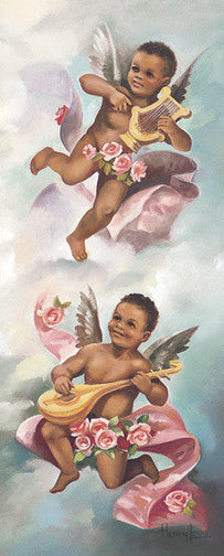 Black Cherubs II by Beverly Lopez