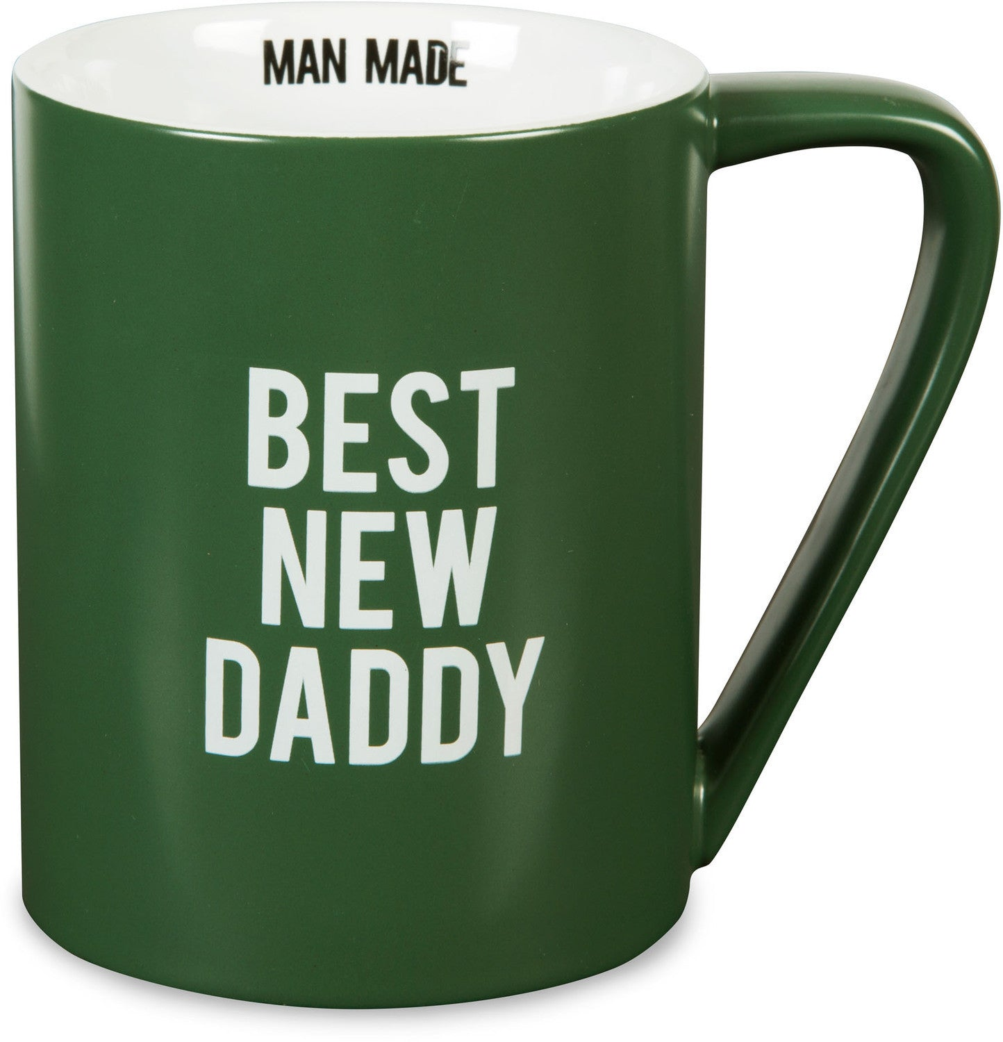 Best New Daddy Ceramic Mug (Man Made) by Pavilion Gifts (Front)