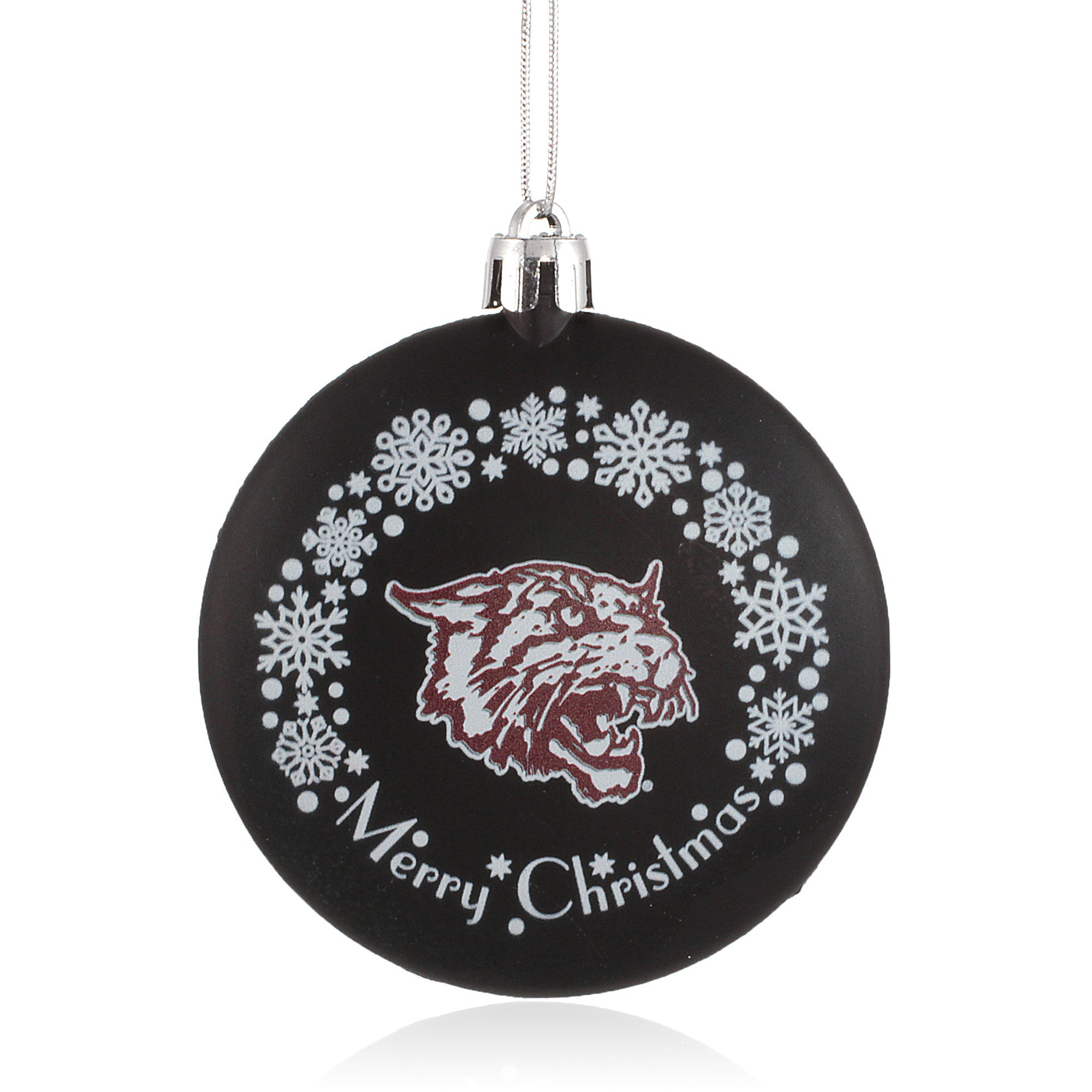 Bethune-Cookman University Wildcats Christmas Ornament