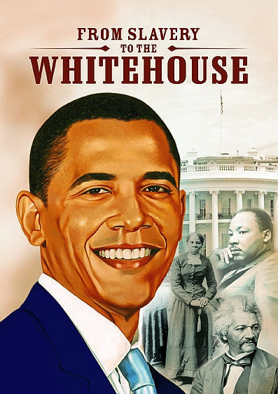Barack Obama: From Slavery to the White house Magnet