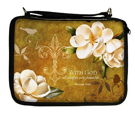With God Bible Cover