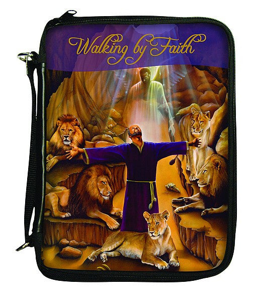 Walking By Faith Bible Cover