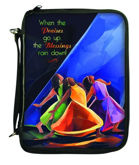 Praises Go Up Bible Cover