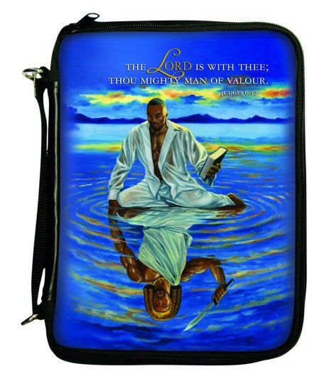 Mighty Man of Valour Bible Cover