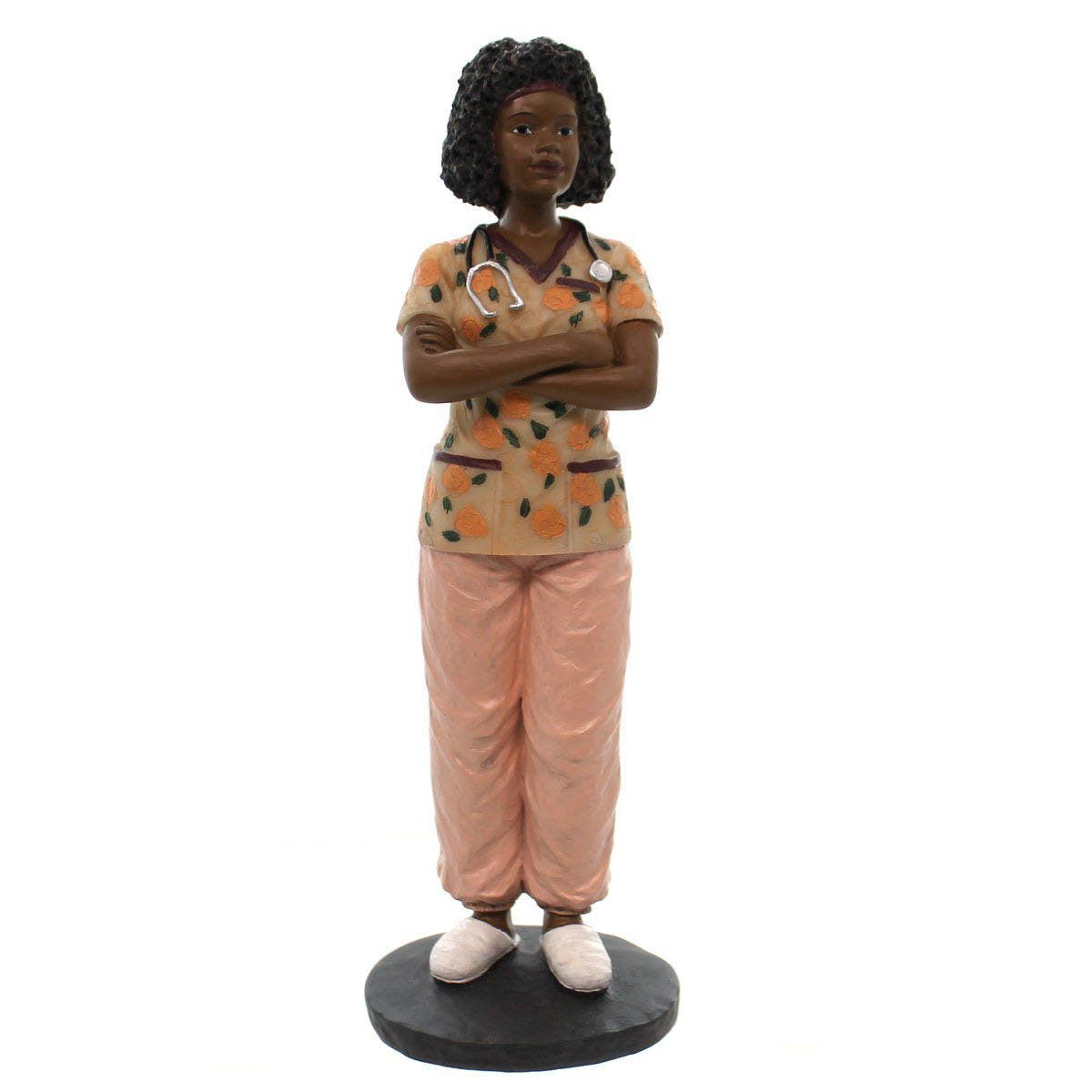 African American Nurse Figurine by Positive Image Gifts