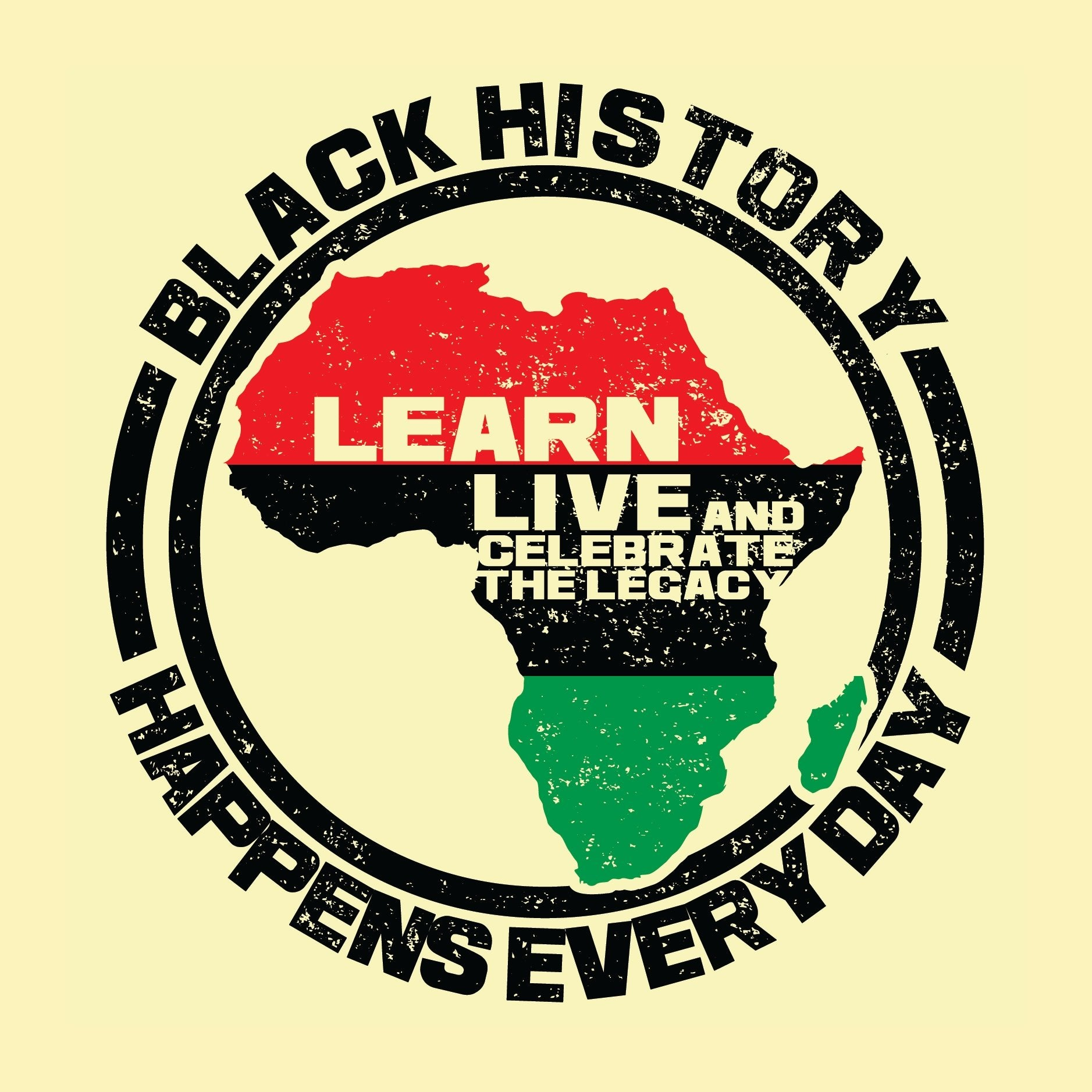 Black History Happens Everyday Poster by Sankofa Designs