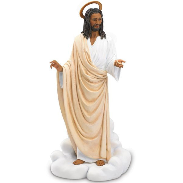 African American Jesus Figurine (Lord I Hold the Key) by Thomas Blackshear