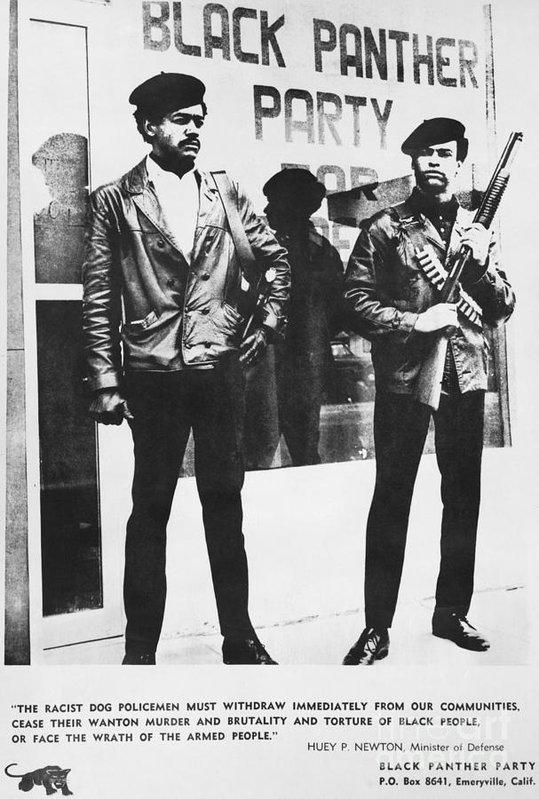 Bobby Seale And Huey Newton Huey Newton and Bobby ...