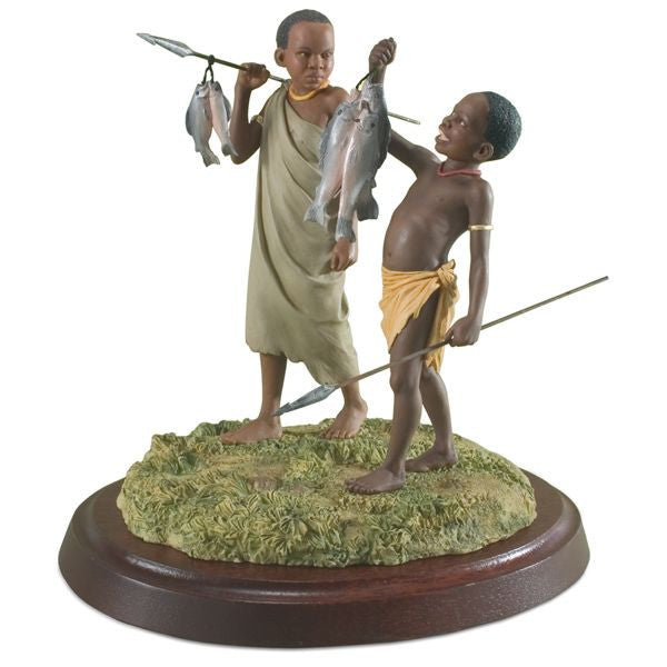 Good Catch Figurine by Thomas Blackshear