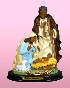 Holy Family: African American Nativity Figurine