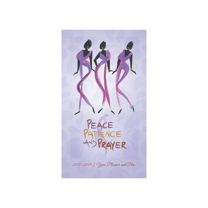 Peace, Patience and Prayer: 2018-2019 African American Checkbook Planner by Cidne Wallace