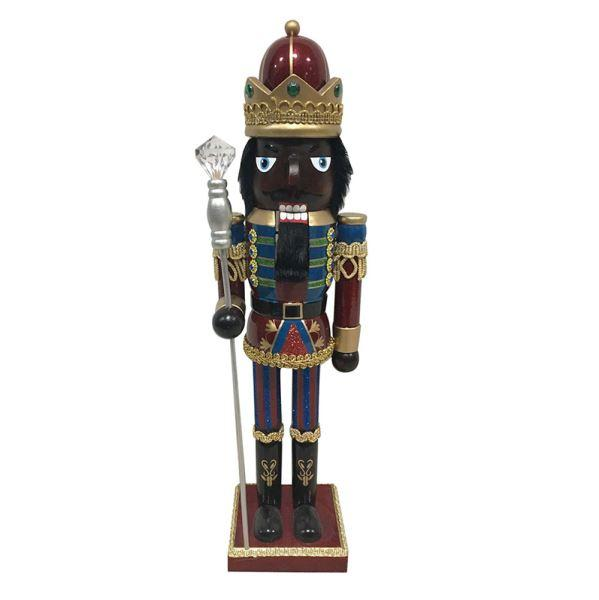 King Nutcracker: African American Nutcracker Figurine
