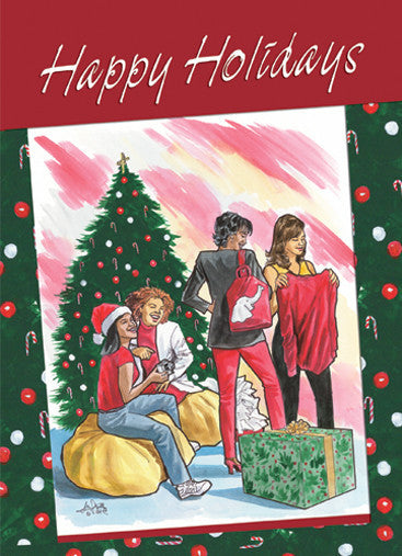 Happy Holidays: African American Christmas Card
