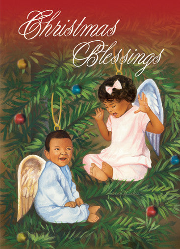 Christmas Blessings: African American Christmas Card