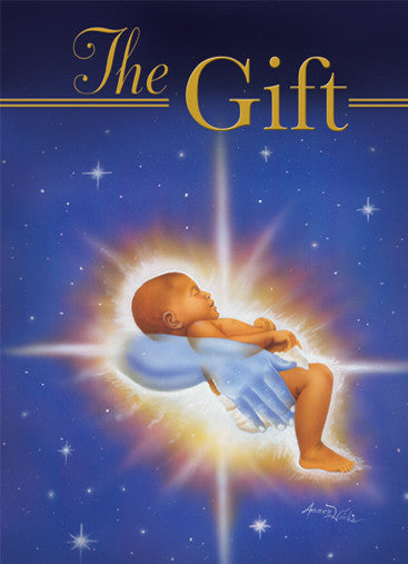 The Gift: African American Christmas Card