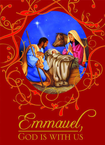 God is With Us: African American Christmas Card