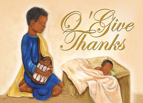 O' Give Thanks: African American Christmas Card