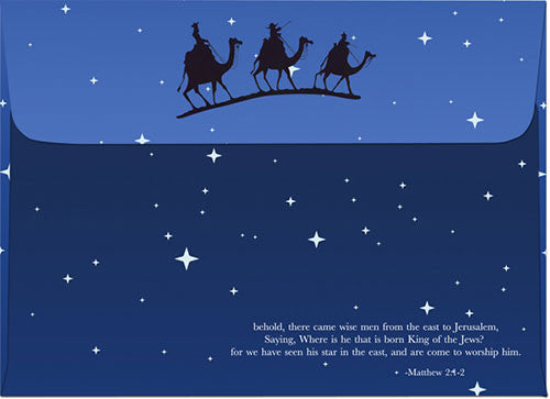 wise men merry christmas african american christmas card envelope - The Christmas Box Cast