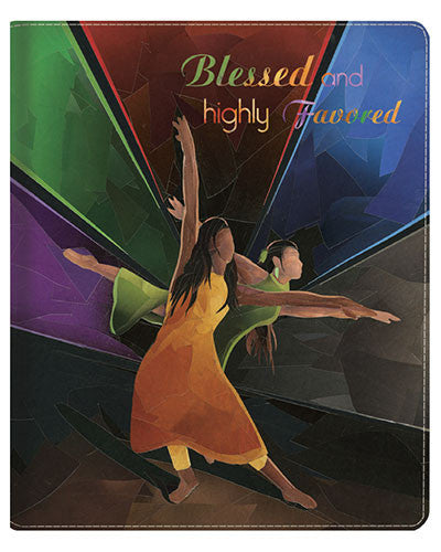 Blessed And Highly Favored Ipad Cover by Carl M. Crawford