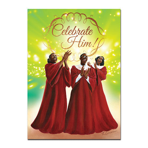 Celebrate Him: African American Christmas Card Box Set