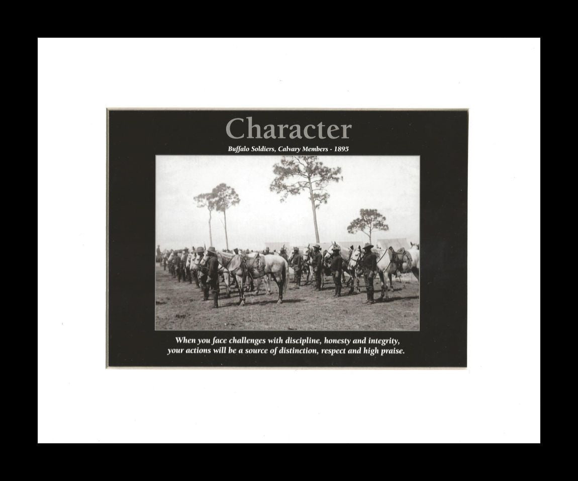 Charachter (Buffalo Soldiers) by D'azi Productions (Black Frame)
