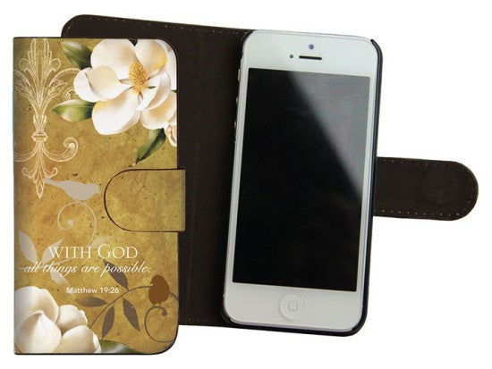 With God Iphone 5 Cover by Charis Gifts
