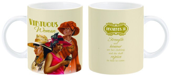 Virtuous Woman Mug by Charis Gifts