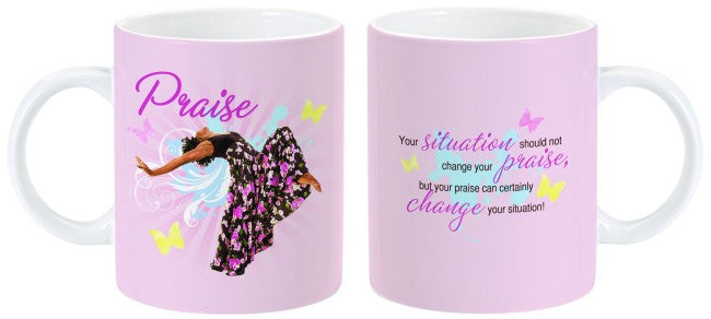 Total Praise Mug by Charis Gifts