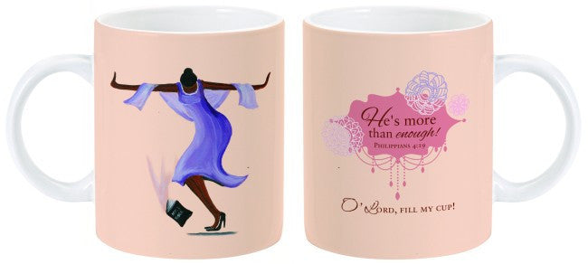 He's More Than Enough Mug by Charis Gifts