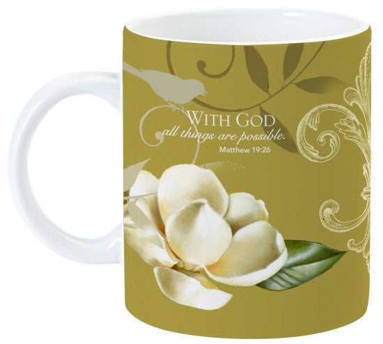 With God Mug by Charis Gift