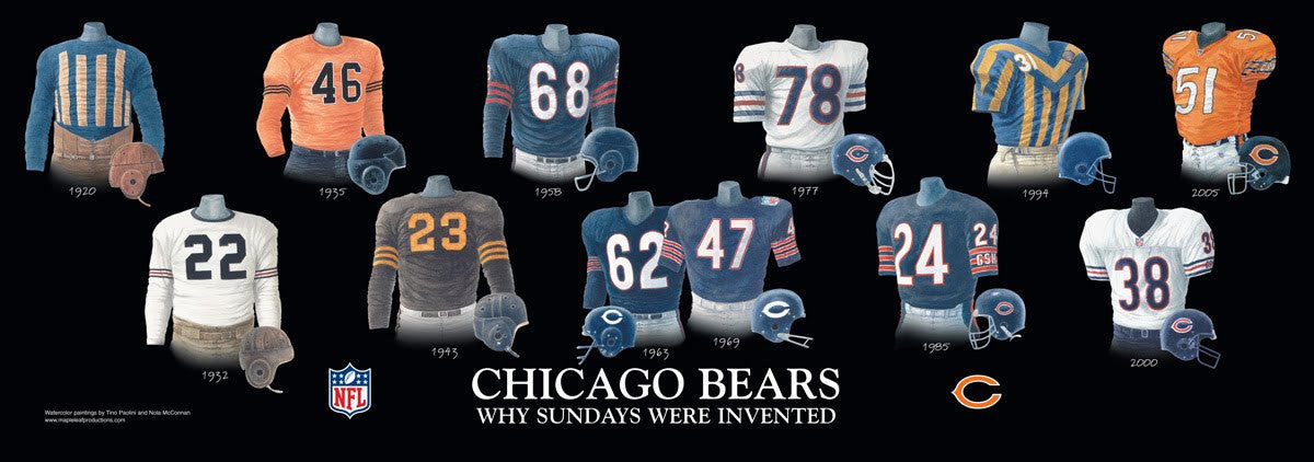 Chicago Bears: Why Sundays Were Invented by Nola McConnan
