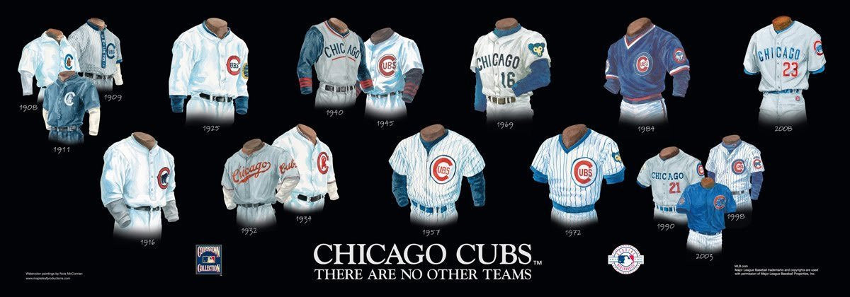 Chicago Cubs: There Are No Other Teams Poster by Nola McConnan
